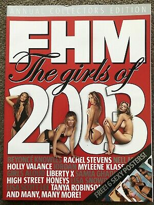 AU24.95 • Buy Fhm Uk Magazine – Annual Collectors Edition – The Girls Of 2003