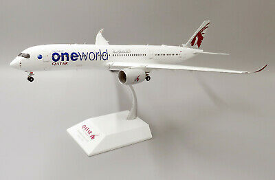 AU159.59 • Buy Jcwings Jc2050a 1/200 Qatar Airways A350-900xwb A7-alz Oneworld Flaps Down W/std