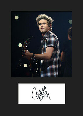 £3.79 • Buy NIALL HORAN (One Direction) #5 Signed A5 Mounted Photo Print - FREE DELIVERY