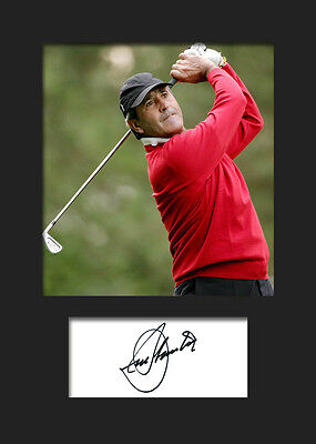 £3.79 • Buy SEVE BALLESTEROS #1 Signed Photo A5 Mounted Print - FREE DELIVERY