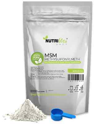 AU24.84 • Buy 2.2 Lb (1000g) NEW 100% PURE MSM POWDER JOINT PAIN & ARTHRITIS RELIEF