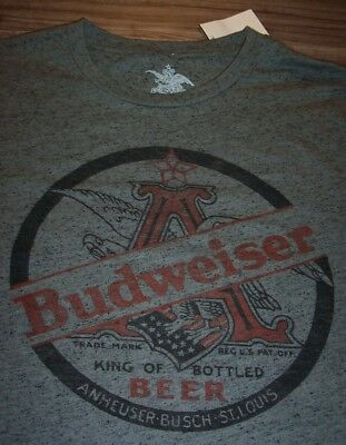 $ CDN25.26 • Buy VINTAGE STYLE BUDWEISER BEER T-shirt SMALL NEW W/ TAG