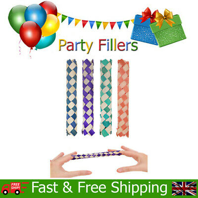 £1.79 • Buy Chinese Finger Trap Fun Kids Childrens Birthday Christmas Party Bag Fillers Toys