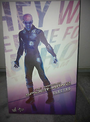 $ CDN298.25 • Buy Hot Toys Electro The Amazing SpiderMan 2 Jamie Foxx Mint IN Box New MMS246 Best