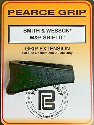 $9.57 • Buy Pearce Grip PG-MPS S&W M&P Shield 9&40 Finger Ext. SAME DAY FAST FREE SHIPPING