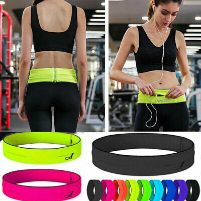 AU14.99 • Buy Sports Running Belt Waist Bag Bum Pocket Cycling Jogging Yoga Travel Pack Wallet