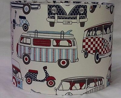 £14 • Buy VW Campervan And Mod Scooter Lampshade