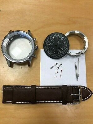 $139 • Buy LORSA Watch Kit For ETA Valjoux 7750 Movement - With All Parts - New - XXL Case