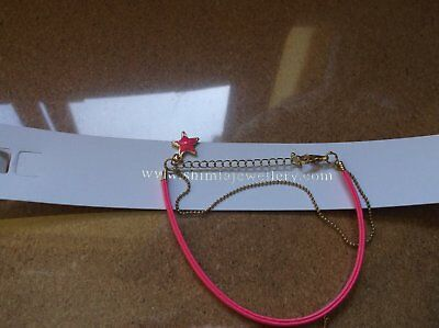£2.50 • Buy Brand>new>genuine>double>shimla>bright>pink>strained>and>star>charm>bracelet