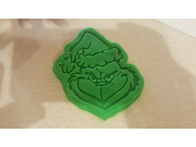 The Grinch Cookie Pastry Biscuit Cutter Icing Fondant Baking Bake Kitchen Xmas ! • 4.99£