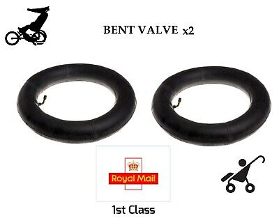 £10.95 • Buy 2 X Inner Tubes 12  BENT VALVE Fits MOTHERCARE MY3 & MY4 -- 1st Class Royal Mail