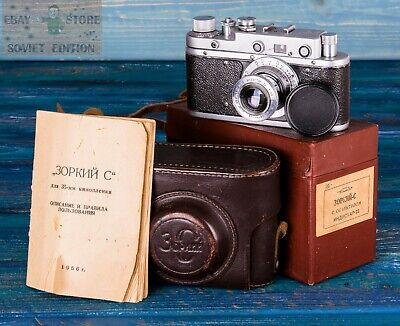 $ CDN112.60 • Buy Vintage Photo Camera Zorki S (Zorkiy C ) In Case Soviet Russian Made In USSR
