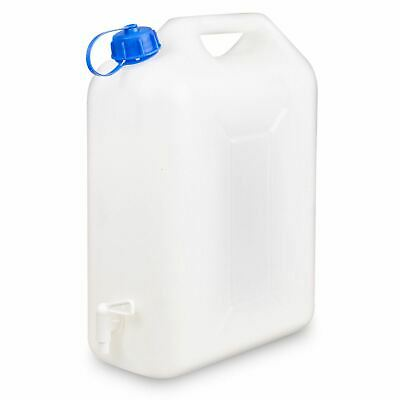 £10.89 • Buy 10 Litre Water Carrier Jerry Can Container Food Grade Plastic With Tap
