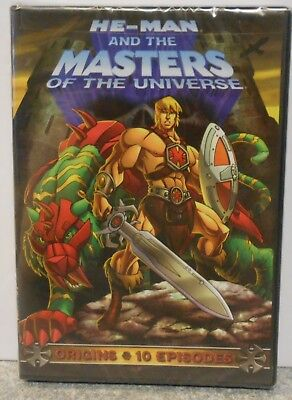 $14.95 • Buy He-Man And The Masters Of The Universe: Origins (DVD, 2009) BRAND NEW