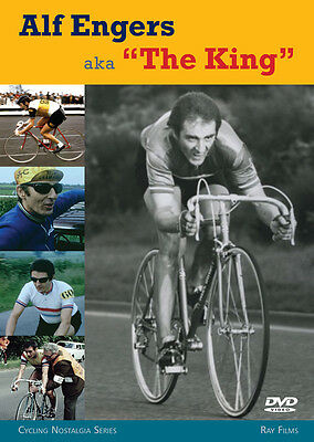New Cycling Dvd, Alf Engers Aka  The King , A Film By Ray Pascoe • 6.99£