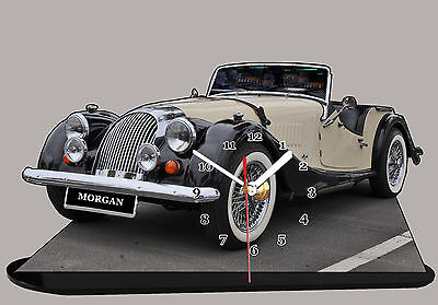 MODEL CARS, MORGAN-03,11,8x 7,8 Inches And Aluminium With Clock • 25£