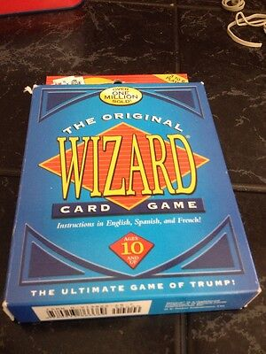 The Original WIZARD CARD GAME Of Trump - Instructions In English Spanish French • 9.99$