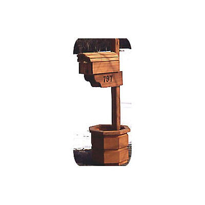 $10 • Buy Woodworking Project Paper Plan To Build Country Mailbox With Planter