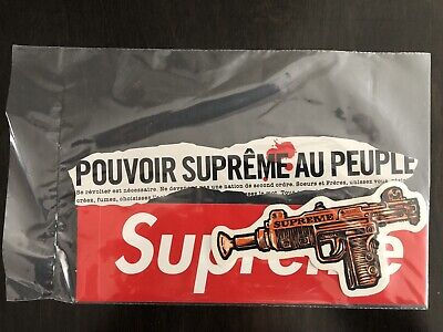 $ CDN24.99 • Buy 3 Supreme Sealed  Stickers Authentic 100% New Edition