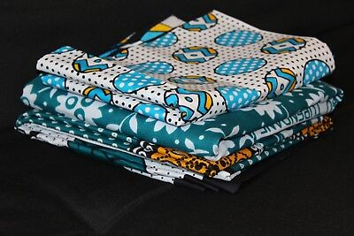 $44.99 • Buy Lesso African Kanga Khanga Cotton Cover/2 Wrappers Jointed