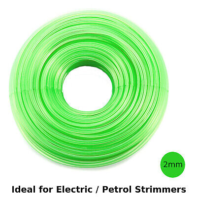 HEAVY DUTY STRIMMER LINE 2.0mm X 15M  FOR PETROL STRIMMERS STRIMMER WIRE CORD • 3.58£
