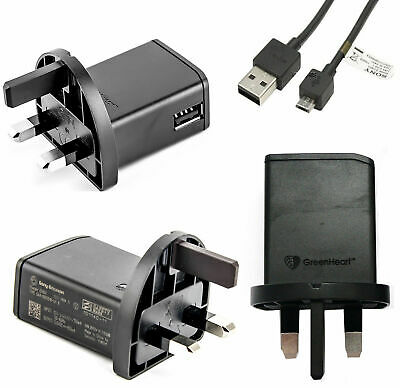 AU8.74 • Buy Sony Xperia XZ Premium, XA1, L1, X Compact Mains Charger / Type C USB Data Cable