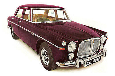 Rover P5 P5B Coupe Carpet Set - Superior Deep Pile , Latex Backed • 202£