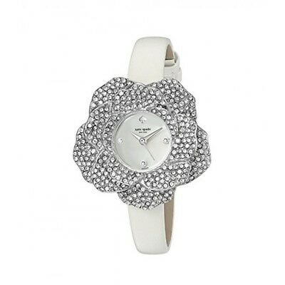 $ CDN186.66 • Buy Kate Spade Rose Shaped Case Pave Crystals Stainless Steel Wrist Watch #KSW1316