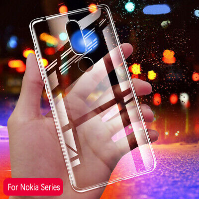 AU8.99 • Buy For Nokia 5.1/3.1/6.1 Plus/7.1/8.1 Case Ultra Thin Clear Soft Skin Light Cover