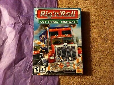 Rig-N-Roll Cut-throat Highway - Pc Game - New Sealed. • 7.93£
