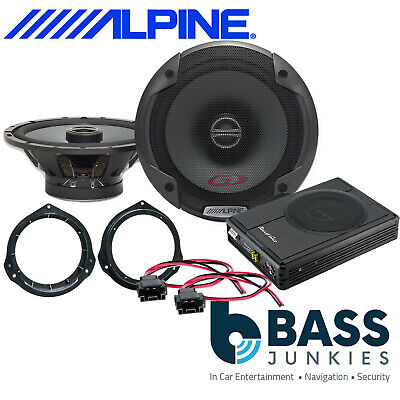 Mercedes Vito W447 Alpine PG Front Door Car Speakers & 300W Underseat Sub Kit • 229£
