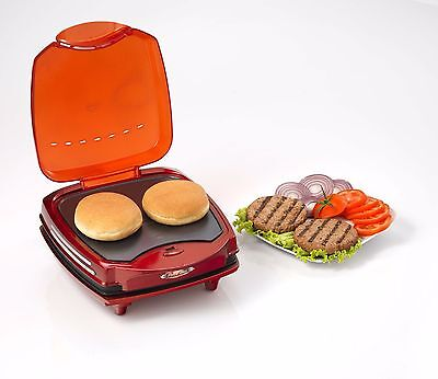 Ariete 185 Hamburger Maker Party Time Plate Toast Panini Flat Breads 1200W • 71.53£
