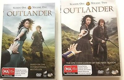 AU20 • Buy OUTLANDER Complete Season 1 Volume 1 &  2