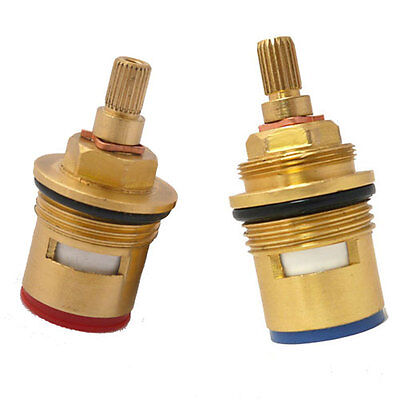 Premium Bath Tap 3/4  Ceramic Valve Replacement Cartridges Quarter Turn Mixer • 6.99£
