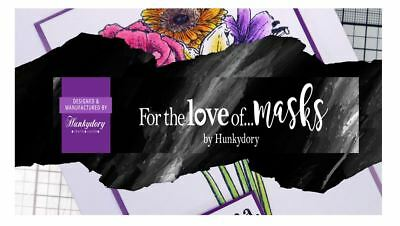 Hunkydory For The Love Of Masks - Hundreds To Choose From - Free Post Brand New • 3.99£