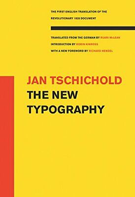 The New Typography (Weimar And Now: German Cultural Criticism (Paperback)) • 36.45£
