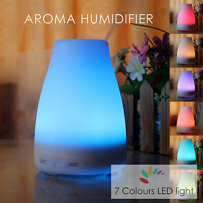AU23.99 • Buy Air Diffuser Essential Oil Ultrasonic Humidifier Purifier Aroma Aromatherapy LED