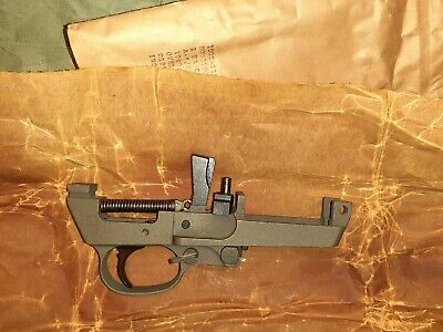 $425 • Buy M1 Carbine Trigger Housing Type 6 With Disconnect Plunger USGI NOS MINT
