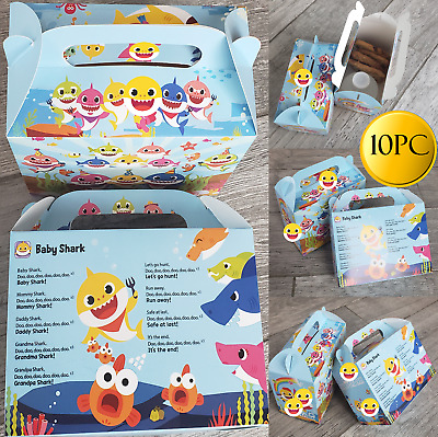 $10.99 • Buy BABY SHARK LOOT BOX CANDY Party Supplies BABYSHARK FAVOR DECORATION