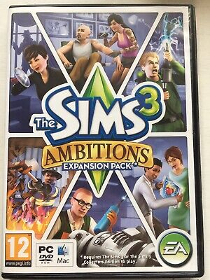 The Sims 3: Ambitions (PC: Mac, 2010) Expansion Pack • 8.99£