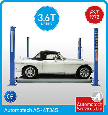 Short 4 Post Car Lift Storage Vehicle Ramp 3.6t  With Mobile Wheel Kit  • 1,944£