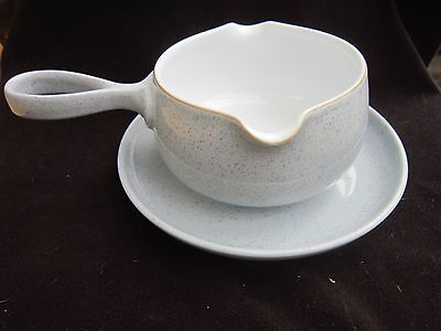 DENBY  Reflections SAUCE BOAT AND STAND   FIRST QUALITY • 17.50£