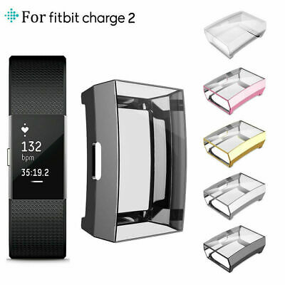 $ CDN8.23 • Buy All-Around TPU Case Soft Protective Cover For For Fitbit Charge 2