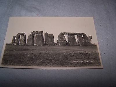 Postcard Of Stonehenge, East View • 2.50£
