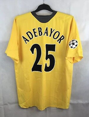Arsenal Player Issue Adebayor 25 Away Football Shirt 2005/06 Adults XL Nike A24 • 149.99£