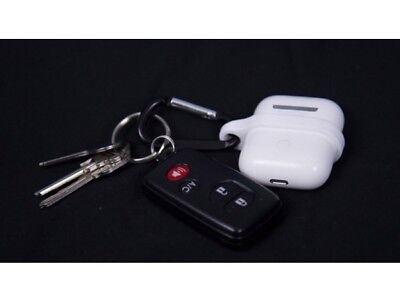 2x Apple Air Pods Keychain Holder Keying Ease Of Use Handy Cool Gadget Value Fun • 5.99£