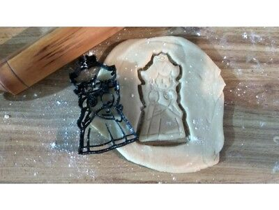 £4.99 • Buy Princess Cookie Cookie Pastry Biscuit Cutter Icing Fondant Baking Clay Kitchen