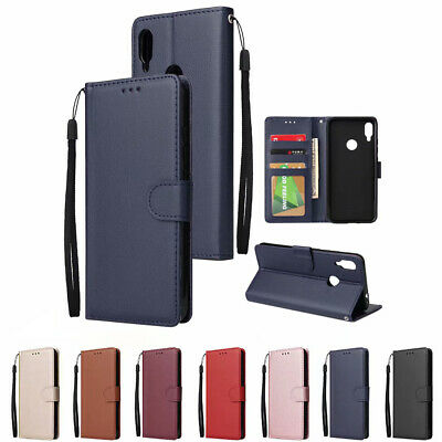 $1.19 • Buy For Xiaomi Redmi 6 6A 5 Note 7 6 4X Magnetic Flip Card Wallet Leather Case Cover
