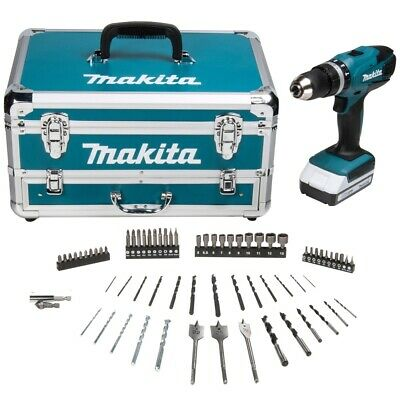 View Details Makita G Series HP457DWX4 18V Combi Drill + 1 X 1.5Ah Batteries, Charger & Acc. • 77.45£