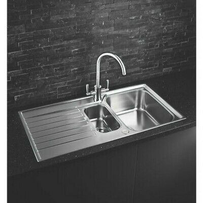 Franke Ascona Inset Sink Stainless Steel 1.5 Bowl 1000 X 510mm • 159.99£